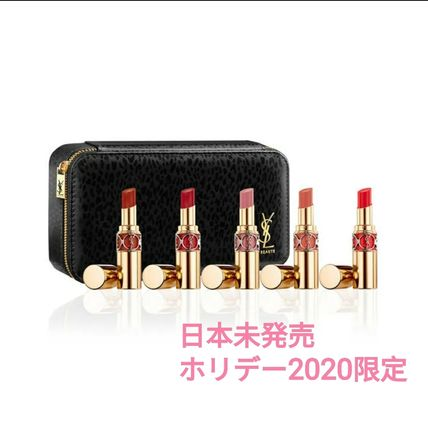 YSL ホリデー2020限定 ROUGE VOLUPTE SHINE HOLIDAY 5本SET