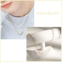 Wing bling☆ボールandボール ネックレス_全2色