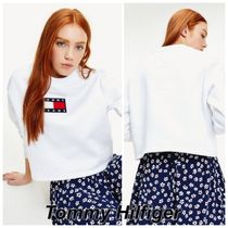 Tommy Jeans フラッグ クルーネック トレーナー