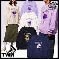 ★関税込★TWN x BUBBLEBOBBLE★Bubble Round Sweat Shirt.s★