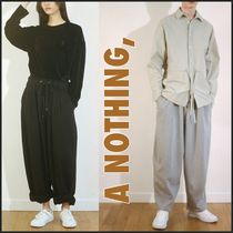 日本未入荷!【A NOTHING】HEAVY-TERRY BALLOON SWEAT PANTS/2色