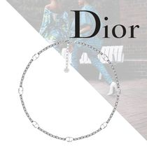 21SS/新作◇Dior チェーンリンク ネックレス 真鍮