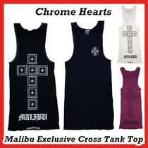 Chrome Hearts Malibu Exclusive Cross Tank Top Black