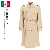 Burberry long westminster trench coat