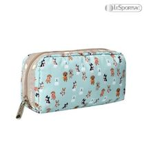 LeSportsac(レスポートサック) メイクポーチ LeSportsac☆PARTY PUPS☆RECTANGULAR COSMETIC