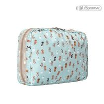 LeSportsac(レスポートサック) メイクポーチ LeSportsac☆PARTY PUPS☆LARGE RECTANGULAR COSMETIC