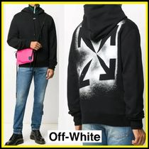 Off-White ★ スリムステンシルパーカー【国内発・関税込み】