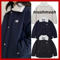 【muahmuah】韓国発★ Wappen Dumble Field Jumper 3色