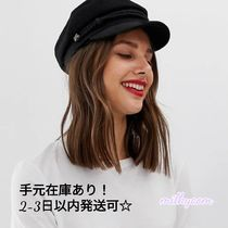 ☆ASOS☆人気!ベイカーボーイハット*送関税込*