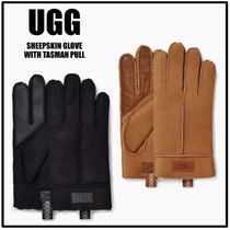 スタイリッシュ☆【UGG】SHEEPSKIN GLOVE WITH TASMAN PULL 手袋