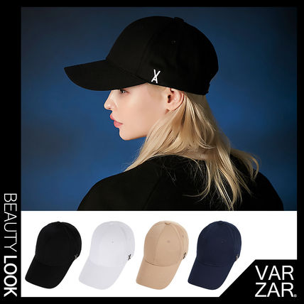【VARZAR】TWICE 着用★Stud logo over fit ball cap キャップ