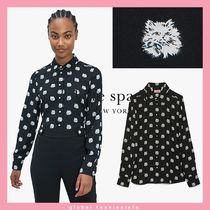 kate spade cat dot top