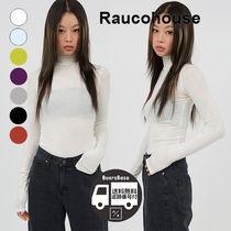 Raucohouse Kitsch Color Turtleneck Slim Top BBH935 追跡付