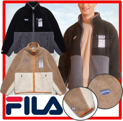 ☆人気☆【FILA】☆FILA X OUTDOOR PRODUCTS Boa Flice Jacke.t