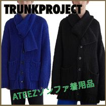 ATEEZ ソンファ着用【TrunkProject】Mohair Scarf Cardigan/2色