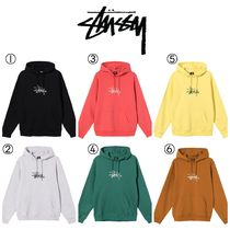 【STUSSY】☆新作☆COPYRIGHT STOCK EMBROIDERED HOODIE