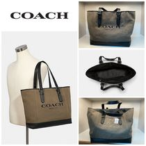 【COACH】☆お買い得☆2388☆HUDSON TOTE WITH COACH PRINT
