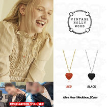 ☆TWICE NAYEON♥Alice Heart Necklace_2Color
