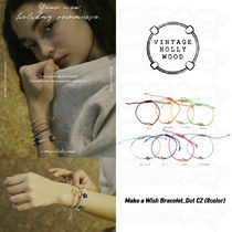 ☆Vintage Hollywood☆Make a Wish Bracelet_Dot CZ