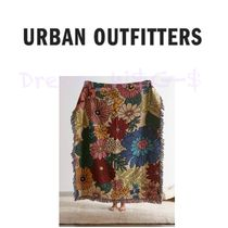 ★Urban Outfitters★floral woven reversible ブランケット★