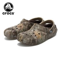 ☆crocs CLSSC LINED REALTREE EDGECLOG CHOCO 国内発送 正規品