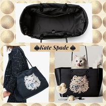kate spade★キャットラージトート puffy cat large tote
