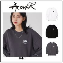 ACOVER(オコボ) Tシャツ・カットソー 【ACOVER] POINT CIRCLE LONG T-SHIRTS /韓国人気/ Tシャツ