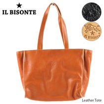 IL BISONTE イルビゾンテ Leather Tote レザー トートバッグ