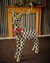 【MACKENZIE-CHILDS】Courtly Check Standing Deer