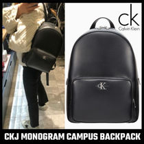 【Calvin Klein】CKJ MONOGRAM CAMPUS BACKPACK
