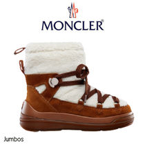 【Moncler】INSOLUX スノー ブーツ スエード WHITE/BROWN