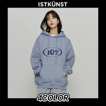 [ISTKUNST] OVAL LOGO HOODIE 4COLOR 送料無料 関税込み