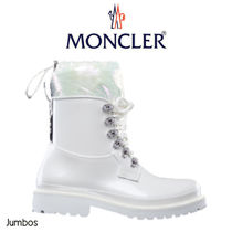 【Moncler】GALAXITE レインブーツ レースアップ ロゴ