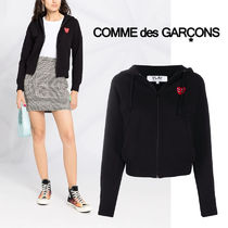 PLAY COMME des GARCONS(プレイコムデギャルソン) パーカー・フーディ PLAY Comme des Garcons プレイコムデギャルソン ジップパーカー