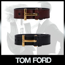 TOM FORD T SMOOTH レザー ブレスレット 2カラー