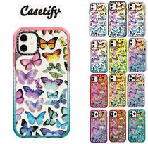 【Casetify】 Butterfly Rainbow/ iPhone インパクトケース