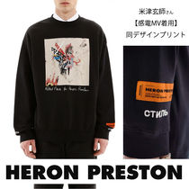 【米津玄師MVデザイン】HERON PRESTON Reg LS Robert Nava Black