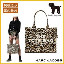 【MARC JACOBS】THE LEOPARD TRAVELER TOTE BAG◆国内発送◆