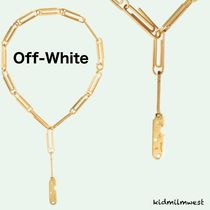 GOLDEN PAPERCLIP NECKLACE☆ロゴプレートがワンポイントに♪
