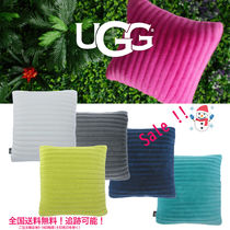 ★UGG★日本未発売 Fluff Faux Quilted Pillowピロークッション
