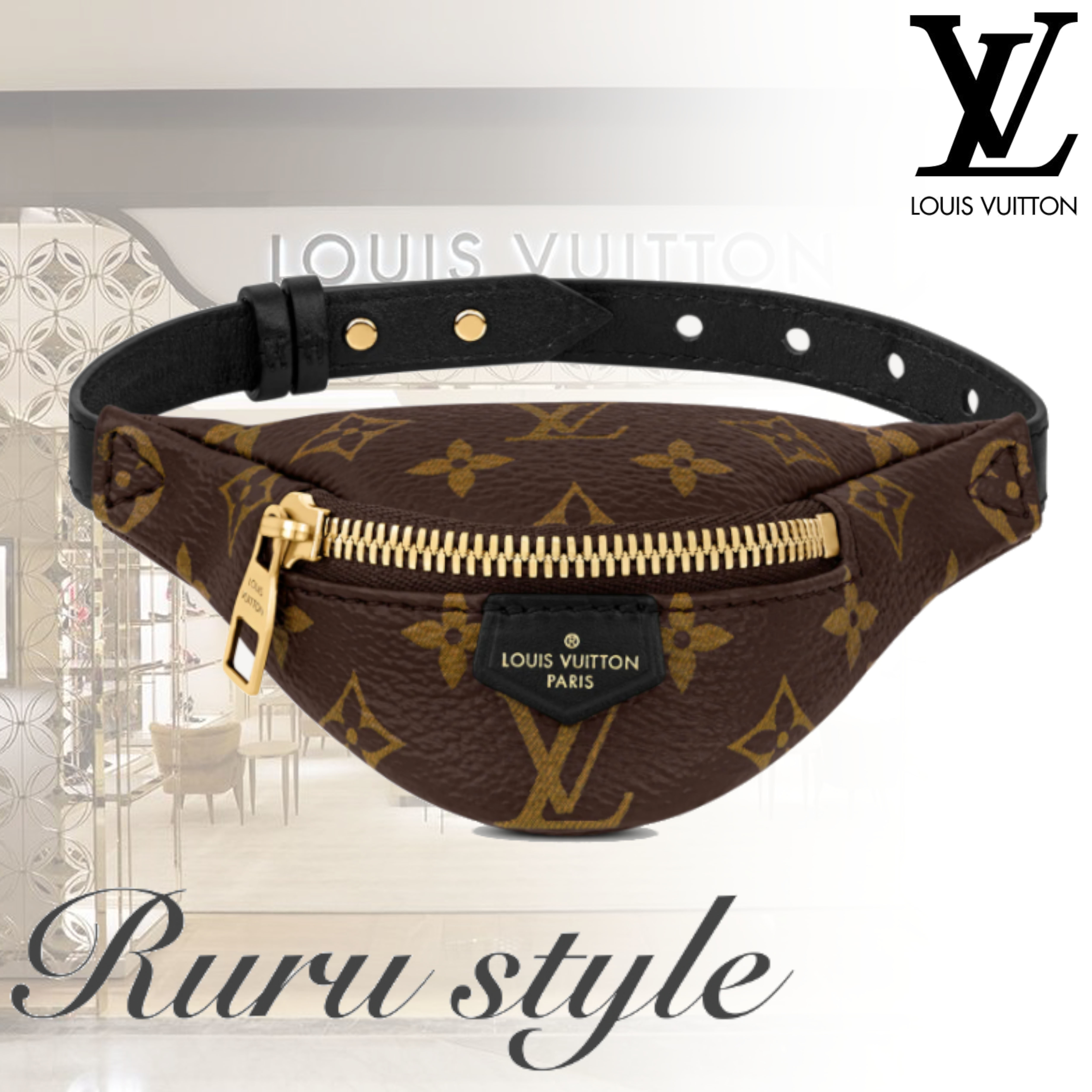 20/21AW最新作★ Louis Vuitton パーティーバンバッグ /ブラウン (Louis Vuitton/バッグ・カバンその他) M6562A