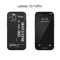 【DIESEL】ディーゼル Moulded Case Core black iPhone12 ケース