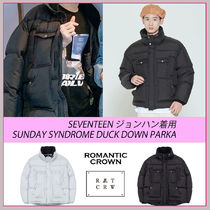 ☆SEVENTEENジョンハン着用☆SUNDAY SYNDROME DUCK DOWN PARKA☆