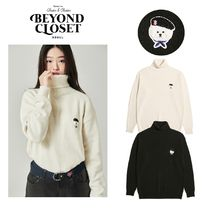 【Beyond Closet】SIGNATURE LOGO CLASSIC WOOL TURTLE NECK 2色