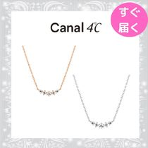 【canal 4℃】ラインモチーフ ネックレス