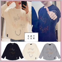 SEVENTEENドギョム着用 SUNDAY SYNDROME SCRIBBLE LOGO KNITWEAR