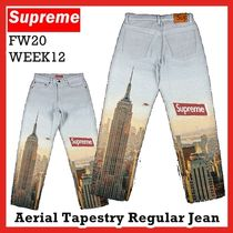 Supreme Aerial Tapestry Regular Jean Multicolor FW20 WEEK 12