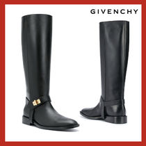 VIP価格【GIVENCHY】leather calf leather riding boots 関税込