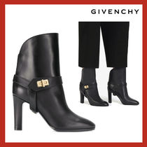 VIP価格【GIVENCHY】leather Eden ankle boots 関税込