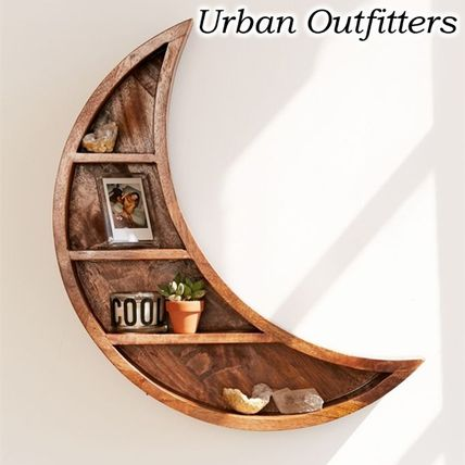 Urban Outfitters 棚・ラック・収納 お洒落★URBAN OUTFITTERS★Crescent Moon Wall シェルフ ラック